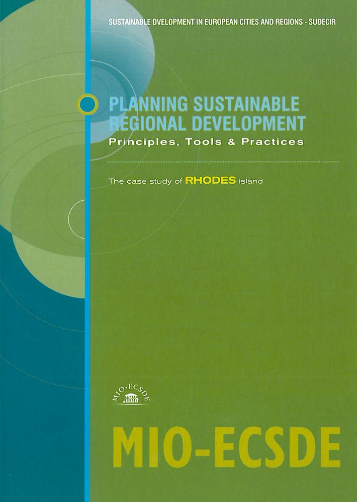 Planning Sustainable Regional Development: Principles, Tools