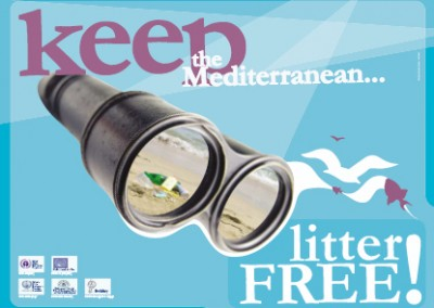 Keep the Mediterranean Litter Free campaign