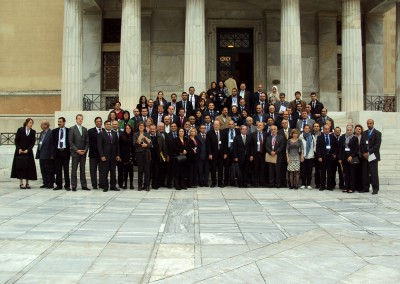 Mediterranean MPs, Journalists, NGOs and others at the Hellenic Parliament, 2013