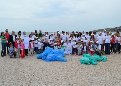 MIO-ECSDE at Let's Cleanup Europe event in Athens, 2014