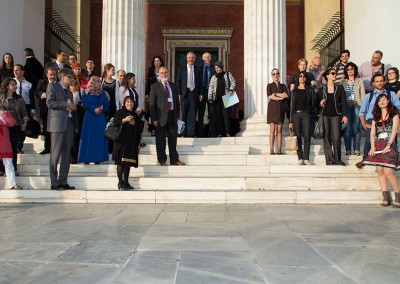 Marine litter week launch in Athens, 2014