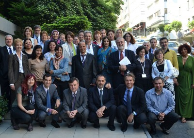 MedPartnership Steering Group Meeting in Istanbul, 2012