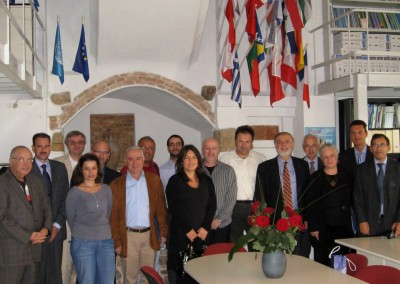 Launch of the Network of the Mediterranean Universities in Athens, 2008