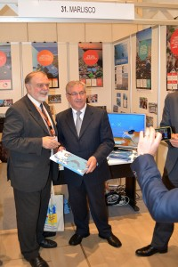 the Commissioner for Environment, Maritime Affairs and Fisheries, Mr. Karmenu Vella and Prof. Michael Scoullos, Chairman of MIO-ECSDE