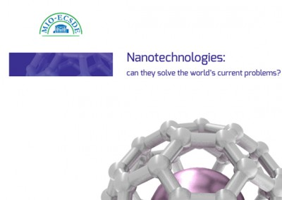 Nanotechnologies: can they solve the world's current problems? MIO-ECSDE, 2013