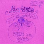 Act4Drin Spring School drawing by Miha Skocir