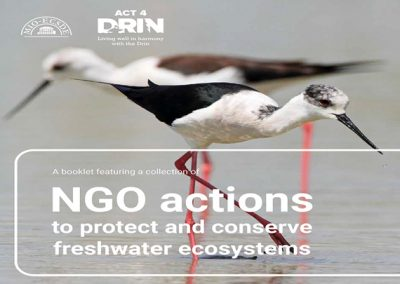 NGO actions to protect and conserve freshwater ecosystems, MIO-ECSDE, 2016
