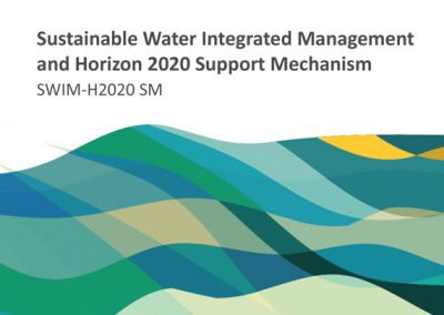 Sustainable Water Integrated Management and Horizon 2020 Support Mechanism 2016-2019