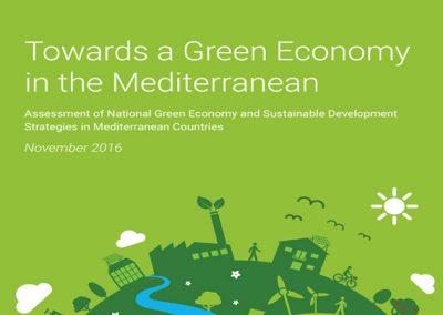 Towards a green economy in the Mediterranean, eco-union, MIO-ECSDE, GEC, 2016