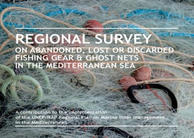 Regional survey on abandoned, lost or discarded fishing gear & ghost nets in the Mediterranean Sea, UNEP/MAP & MAP partner MIO-ECSDE, 2015