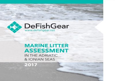 Marine Litter Assessment in the Adriatic and Ionian Seas. IPA-Adriatic DeFishGear Project, MIO-ECSDE, HCMR and ISPRA, 2017