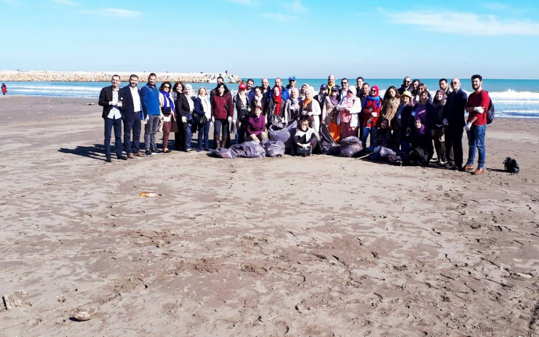Enhancing capacities to survey and manage marine litter in Algeria