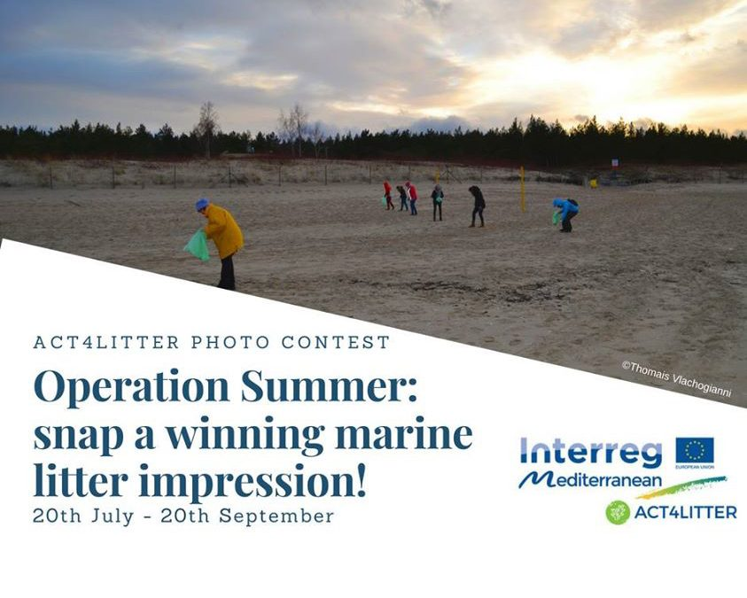 Operation Summer: snap a winning marine litter impression!