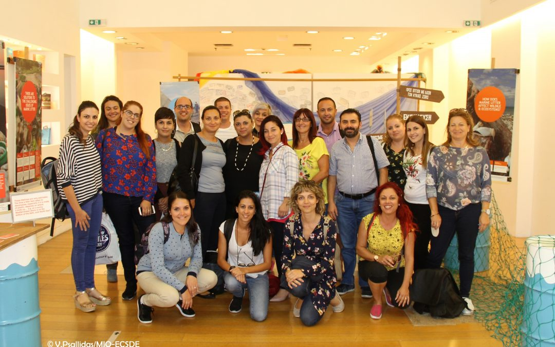 European Educators Empowered to Be Part οf the Fight Against Marine Litter