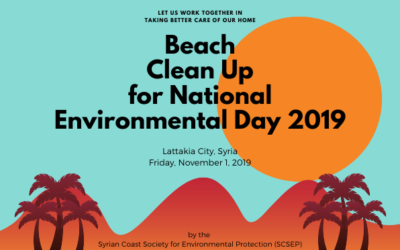 Celebrating National Environmental Day in Lattakia, Syria