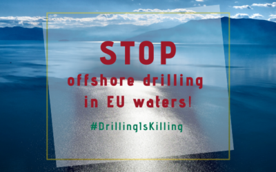 MIO-ECSDE signs on to a manifesto calling for a moratorium on offshore drilling