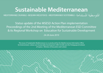 Status update of the MSESD Action Plan implementation Proceedings of the 2nd Meeting of the Mediterranean ESD Committee & its Regional Workshop on ESD. Issue No 75