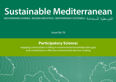 Participatory Science: engaging communities in filling in environmental knowledge data gaps and contributing to effective environmental decision-making. Issue No 76