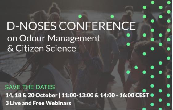 Conférence de clôture de D-NOSES : 3 ans de nouvelles connaissances sur la gestion de la pollution olfactive
