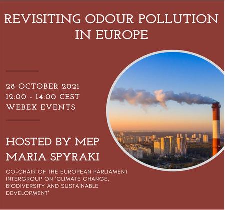 L'Intergroupe du Parlement européen et le MIO-ECSDE appellent à réexaminer le défi de la réglementation de la pollution olfactive : Le 28 octobre